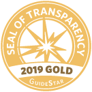 GuideStar Seal Of Transparency 2019 Gold